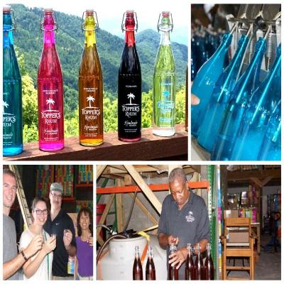 toppers-rhum-st-maarten-collage