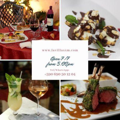 la villa restaurant-sxm