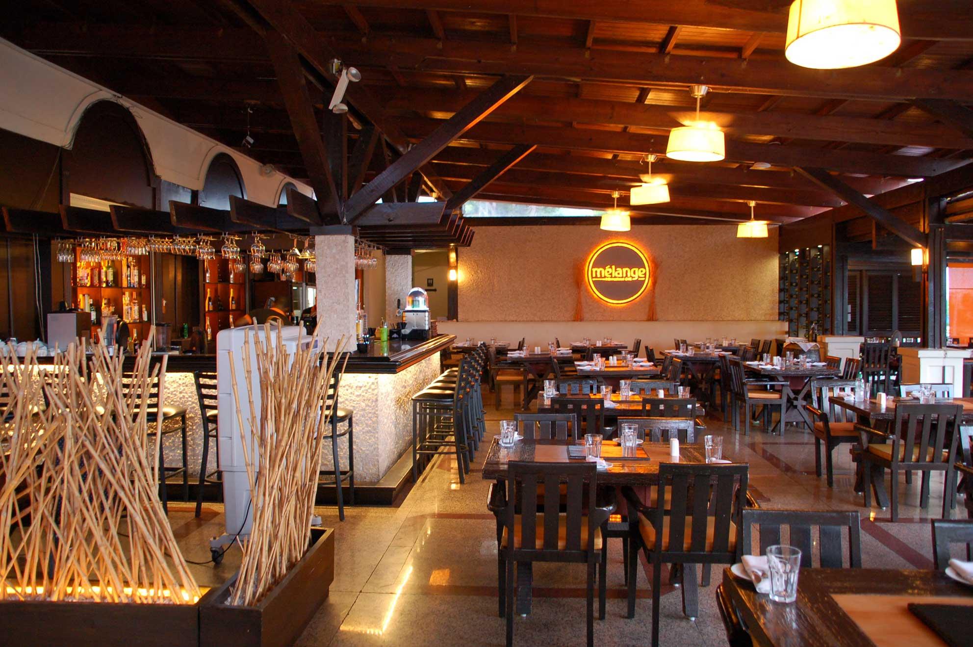 Melange restaurant Sint Maarten
