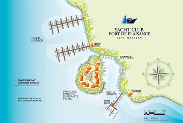 Carte Princess Port de Plaisance Resort