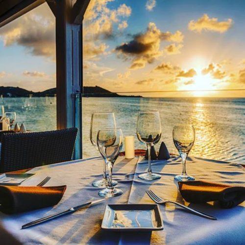 ocean grandcase restaurant sxm