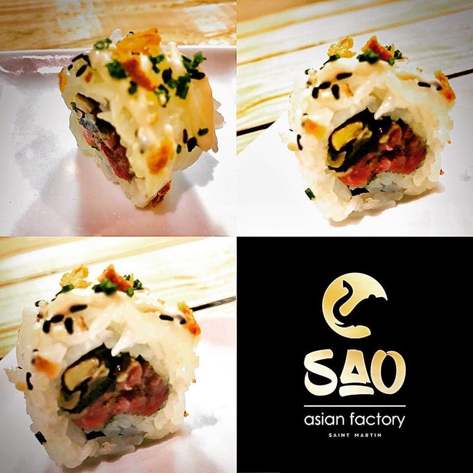 sao sushi roller sxm