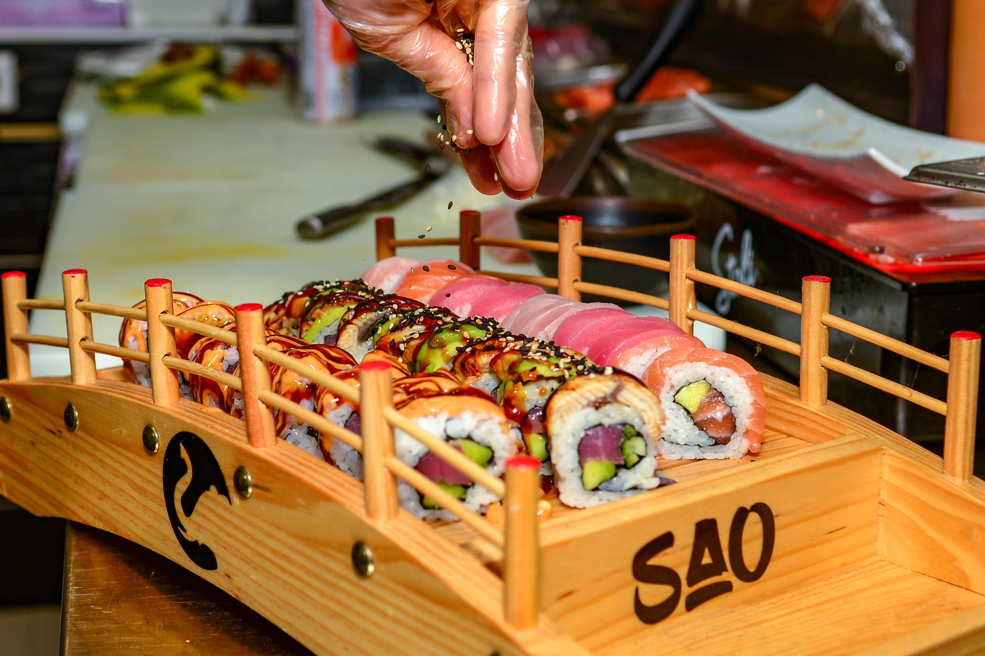 sao sxm plateau sushi
