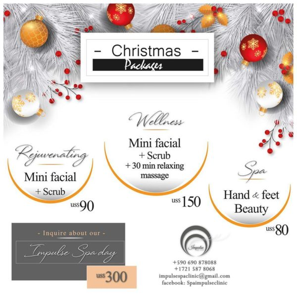 christmas packages sxm