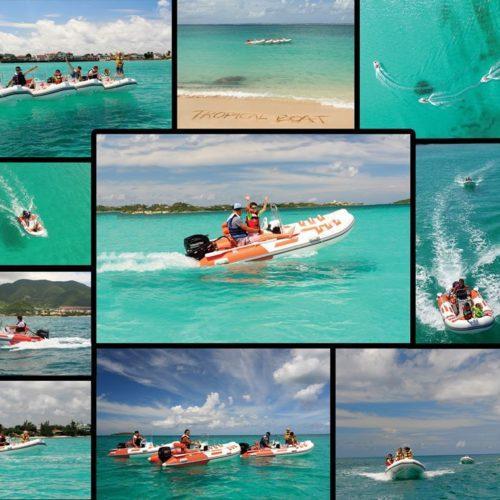 boat rental sxm