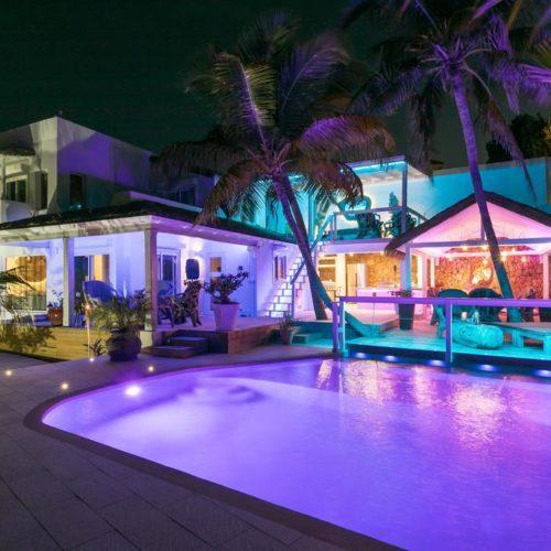 villa blue lagon sxm