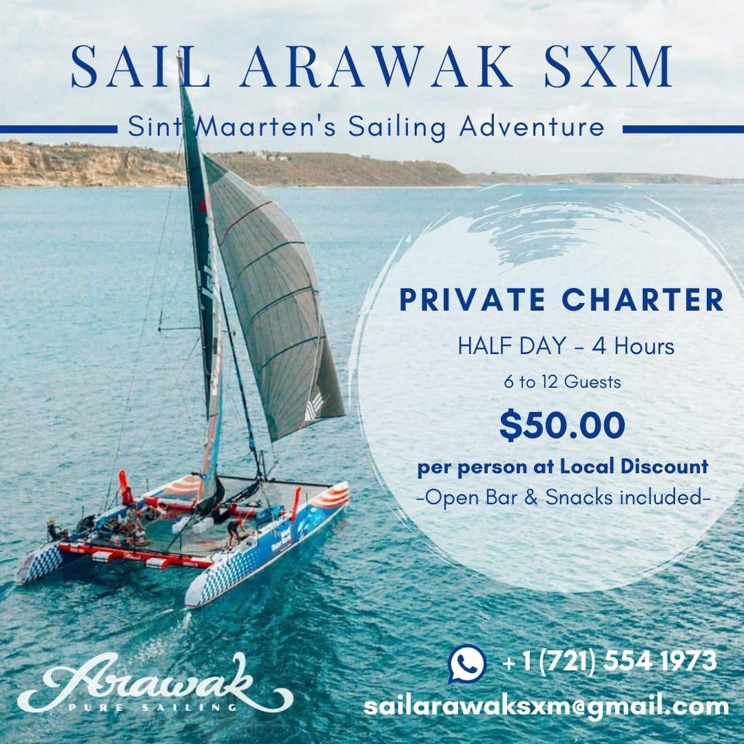 sail arawak sxm